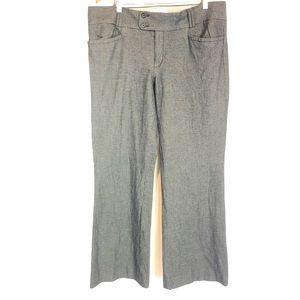 BR sz 14 blue micro thatch pants Sloan fit stretch